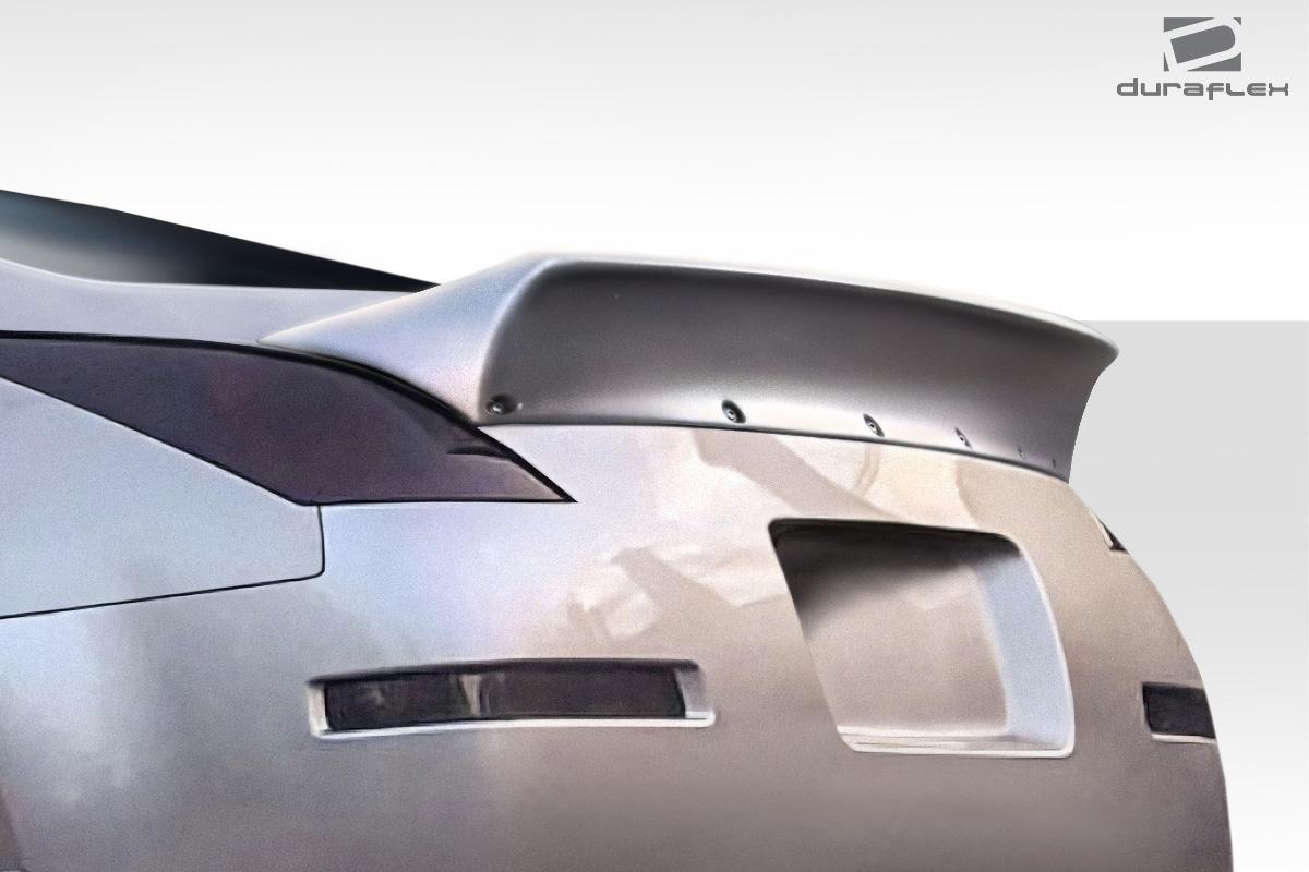 Duraflex 112727 2003-2008 Nissan 350Z Z33 2DR Coupe Duraflex RBS Rear Wing Spoiler 1