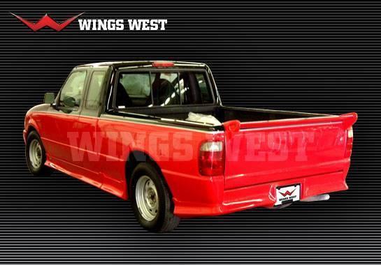Wings West 1998 2008 Ford Ranger W Type Rear Roll Pan 490191 Jsk Tuning